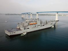 US Military Sealift Command USNS Amelia Earhart (T-AKE 6) dry cargo/ammunition ship.