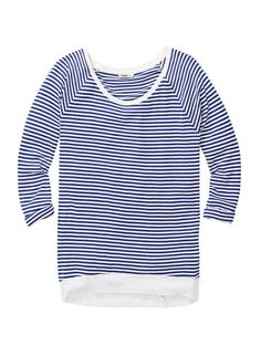 Del Mar T-shirt with stripes / by TNA