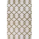 """Found it at Wayfair - Greenwich Modern Lozenge Ivory Rug 8'6"""" x 11'6"""" $999"""