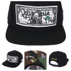 DOLLA DOLLA      Cayler & Sons Wl Dolla Dolla Snapback Cap black    http://www.hoodboyz.co.uk/product/p174938_cayler-and-sons-wl-dolla-dolla-snapback-cap-black-camouflage.html