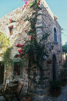 Mesta Chios by AD Places Around The World, Travel Around The World, Around The Worlds, Chios Greece, Greek Isles, Greece Islands, Island Life, Wonderful Places, Places To Go