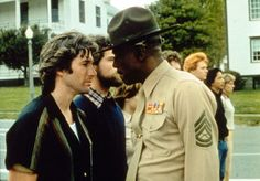 An Officer and a Gentleman - Richard Gere & Louis Gossett, Jr. (in his Oscar-winning role) Louis Gossett Jr, Ferdinand The Bulls, An Officer And A Gentleman, Funny Films, Why I Love Him, Best Supporting Actor, Hero's Journey, Oscar Winners, Live In The Now