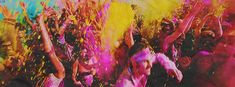 """""""Holi is a major festival in the Hindu religion. Happy Holi Gif, Happy Holi Images, Holi Pictures, Nature Pictures, Bollywood Couples, Bollywood Actors, Gif Animated Images, Holi Special, Holi Celebration"""