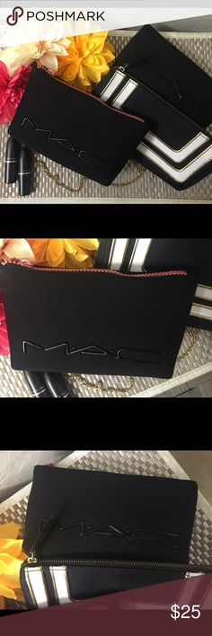 ✨✨Mac makeup bags new pick one out of bundle ✨ Choose any bag brand new authentic Mac bag came in limited edition Mac sets bought at major retailer . Selling separate . MAC Cosmetics Bags Cosmetic Bags & Cases