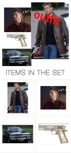 """odd~dean Winchester"" by crazymofo1999 ❤ liked on Polyvore featuring art"