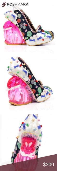 Irregular Choice Rainbow 🌈 Bunny 🐰 Heels Irregular Choice Rainbow 🌈 Bunny 🐰 Heels size 40 (9) in Irregular Choice New in Box Retired and very hard to find Irregular Choice Shoes Heels