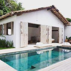 Pool inspo via @pinterest #sundaymood #goalsetting #moodboard