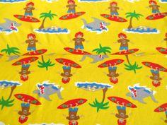 ♥ Bio Interlock Beachboy - GELB - Jersey ♥ von felinchens auf DaWanda.com