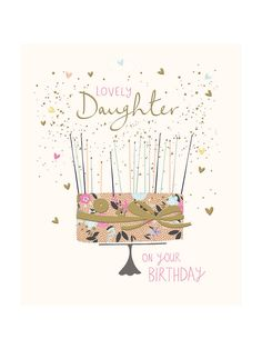 BuyWoodmansterne Amazing Daughter Birthday Card Online At Johnlewis Greeting Cards Greetings