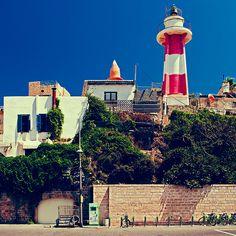 Jaffa lighthouse. Tel Aviv, Israel. by Dmitry Vartanian, via 500px