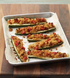 Say hello to the healthy alternative to baked potatoes. This quinoa stuffed zucchini from the cookbook Secrets of Healthy Cooking by Barbara Seelig-Brown is everything you want in terms of texture (there's crunch!), flavor (sweet onions and salty pancetta) and doing your body good. Your little ones will love how easy these are to eat as well – just pick 'em up and chomp on down! Get the full...