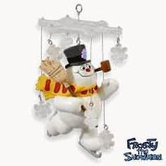 2010 FROSTY THE SNOWMAN - A MAGICAL KIND OF SNOW HALLMARK ORNAMENTS    ornament-shop.com