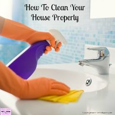 Cleaning your home is your responsibility and how clean your home is will depend on your own standards!