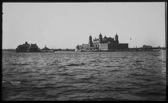 Ellis Island. Where Chava and Schlamaan come to NYC, along with thousands of immigrants.