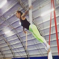 "Anastasiya Maksimova on Instagram: ""One day you just need to stop being afraid, keep your back straight and #summerset! #тренертатьянатур #aerialclass #aerials #aerialyoga…"""