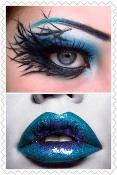 dark fairy makeup - Google Search