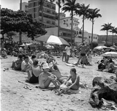 Rio Beach, 1967 - Brazil