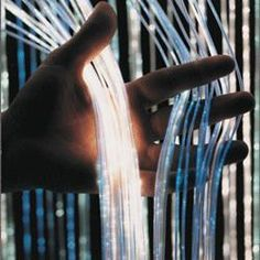 Shimmering fiber optic light curtain.  (This web site has TONS of great OT products!)