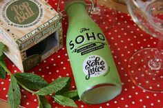 Summertime cocktails with Soho Juice Co.