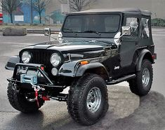 1977 Jeep CJ-5. Wife and I just inherited one of these... except its a CJ-7