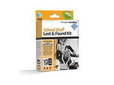 FinderCodes School Stuff Lost & Found Kit
