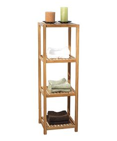 This understated yet elegant shelf is the perfect way to add extra storage to a room without sacrificing style.