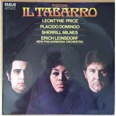 Puccini: Il Tabarro by Leontyne Price/Placido Domingo/Sherrill Milnes/Erich Leinsdorf/New Philharmonia Orchestra from RCA (LSC-3220)