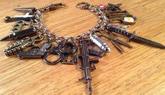 Zombie+Apocalypse+Charm+Bracelet+ZA317.+The+one+by+NormanJewelry