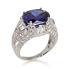 Victoria Wieck 7.88ct Absolute™ Baguette and Oval Ring from HSN #342-545 for $69.95.
