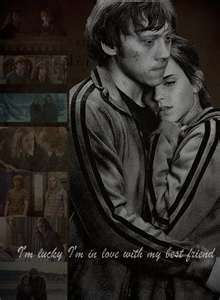 ron and hermione relationship study