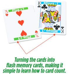 Want to win at blackjack? Learn how to count cards.