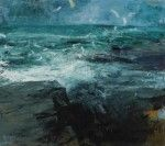 Donald Teskey's paintings @ Oliver Sears Gallery, Dublin are from 'Ocean Frequencies' a series of Irish landscapes that reconnect us to a mythic past