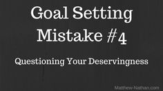 Facebook Twitter Google+ Buffer Deadly Mistake #4 We question our right to be,do, or have whatever it is we want out of life. There are a couple of degrees of truth For Example: You re reading this post right now or watching the video below it. Your taking time to read or watch the video when[...] Continue Reading The post Goal Setting -M4 appeared first on Online Marketing Tips & Tricks.