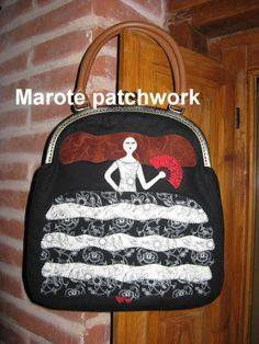 Bolso menina  www.facebook.com/pages/Marote-patchwork/208323209190936