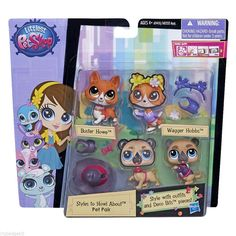 Littlest Pet Shop Styles to Howl About Wagger Hobbs 3769 Buster Howe 3770 for sale online Lps For Sale, Lps Pets, Lps Littlest Pet Shop, Virtual Pet, Little Pet Shop, Fabric Dolls, Rag Dolls, Disney Coloring Pages, Needle Felted Animals