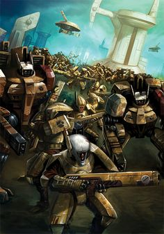 The Fire Caste are the military caste of the Tau Empire. The Tau of this caste are tall and have relatively stronger and more muscular fr. For the Greater good (Part