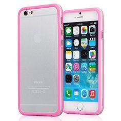 iPhone 6 case - KAYSCASE ColorLine Bumper Cover Case for Apple iPhone 6 4.7 inch 2014 Version (Lifetime Warranty)(Pink) KaysCase http://www.amazon.com/dp/B00FVSOKC0/ref=cm_sw_r_pi_dp_LdsNub04QCMJE