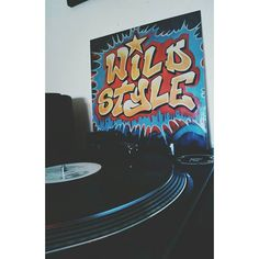 "Said: ""This is hip hop not fashion!"" #wildstyle #movie #newyork #80s #vinyl #hiphopgoldenera #turntablism by helena_doom http://ift.tt/1HNGVsC"