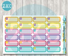 005- Phone Call Reminder Quarter Boxes Planner Stickers - To Do Stickers - Work Stickers - Daily Task Stickers - Erin Condren Stickers by ZoeKCreations on Etsy