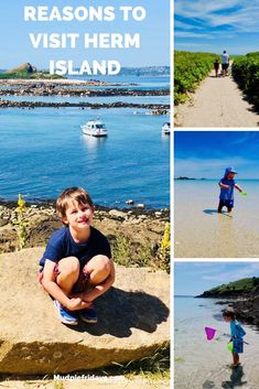Reasons to visit Herm Island - we had an amazing trip to Herm Island it really needs to be on your must visit list if you visit the Channel Islands Days Out With Kids, Family Days Out, Family Adventure, Adventure Travel, Ireland With Kids, Waiting In The Wings, Shell Beach, Beach Picnic, England And Scotland