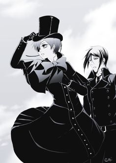 Black Butler.  The Spiders Intention.  Composition....so beautiful....