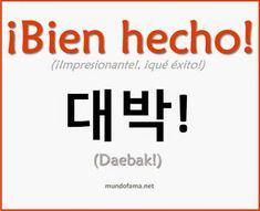 Resultado de imagen para palabras en coreano