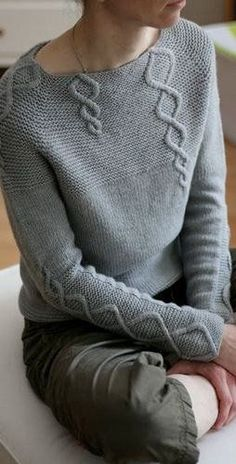 Hand Knit Women's boat neck sweater hand knitted women's sweater cardigan pullover women's clothing handmade turtleneck crewneck v-neck Crochet Baby, Knit Crochet, Crochet Jumper, Ravelry Crochet, Crochet Stitch, Knitting Patterns, Crochet Patterns, Afghan Patterns, Cable Sweater