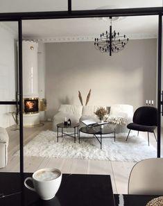 Modern Home Interior Design, Home Room Design, Luxury Homes Interior, Home Living Room, Apartment Living, Living Room Decor, Home Office Decor, Home Decor Inspiration, Decoration