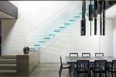 Siller glass stairs Glass Stairs, Home Decor, Decoration Home, Room Decor, Home Interior Design, Home Decoration, Interior Design
