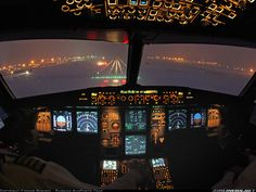 The Airbus A321 Cockpit