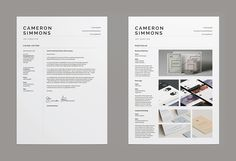 Cv Template Lexi ResumeCv Template  Word  Photoshop  Indesign