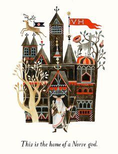 New art from Carson Ellis's upcoming book, Home | on Design*Sponge