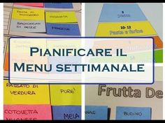 Pianificare ed organizzare pasti e menu della sett Planning Menu, Menu Planners, Desperate Housewives, Healthy Cooking, Problem Solving, Food Hacks, Good To Know, Stress, How To Plan