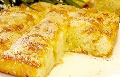 Сахарный пирог со сливками | Печем и варим